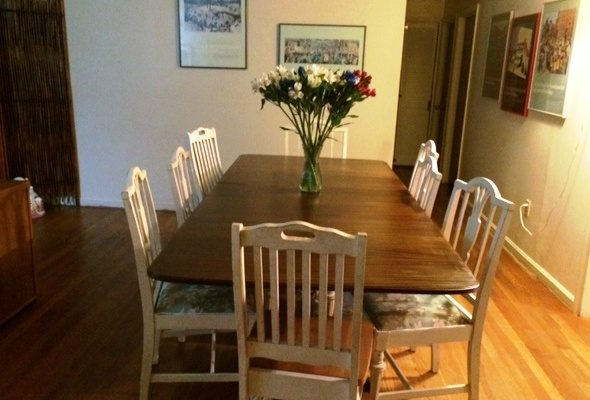 dining room table home exchange