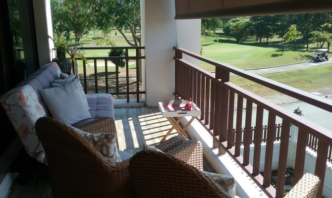 Exchange your home with this condo with a view in Thailand on golf course