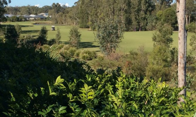 Home on golf course in Australia for holiday exchange